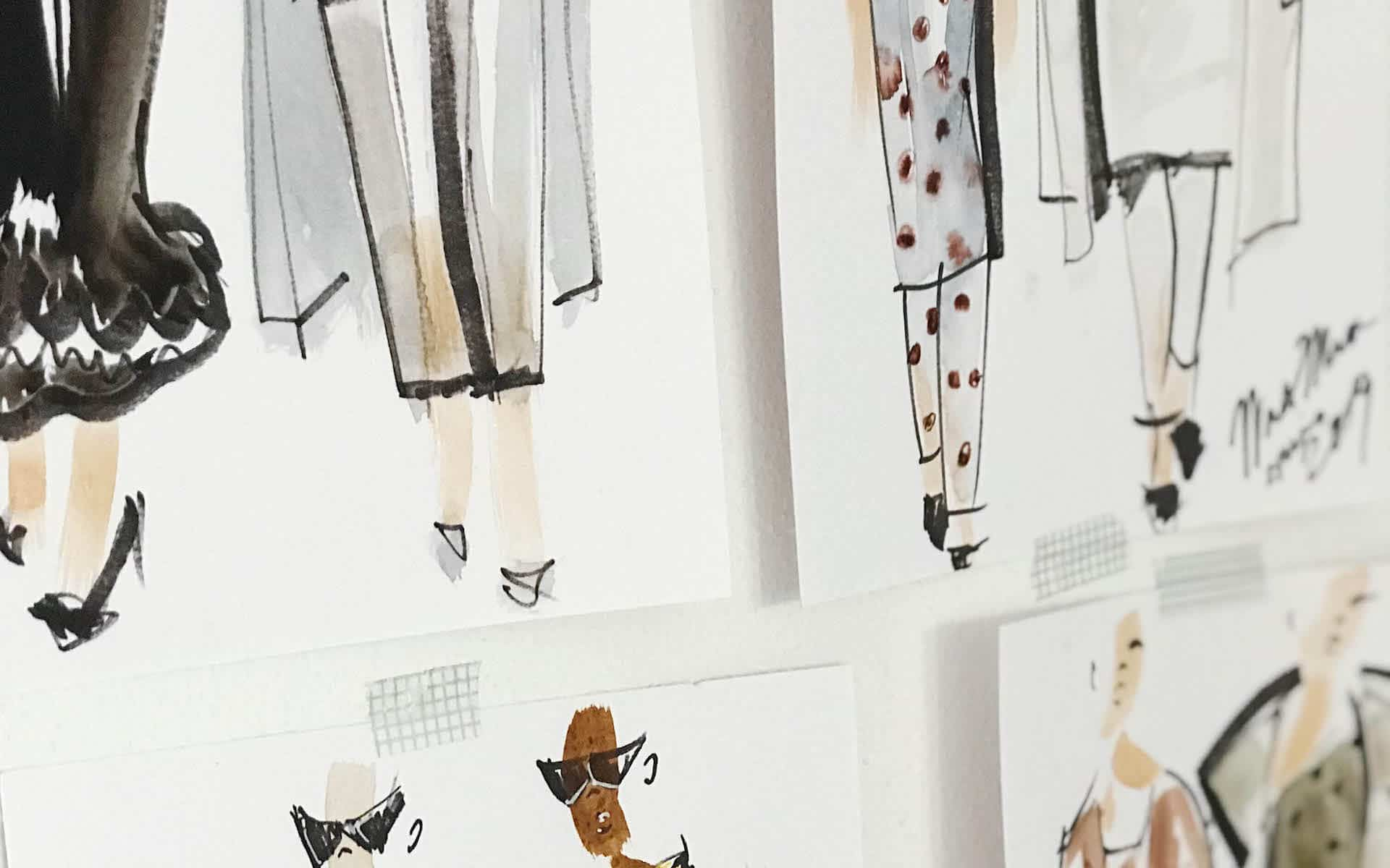 Isabella Hierl Consulting Contact Image Fashion Sketches
